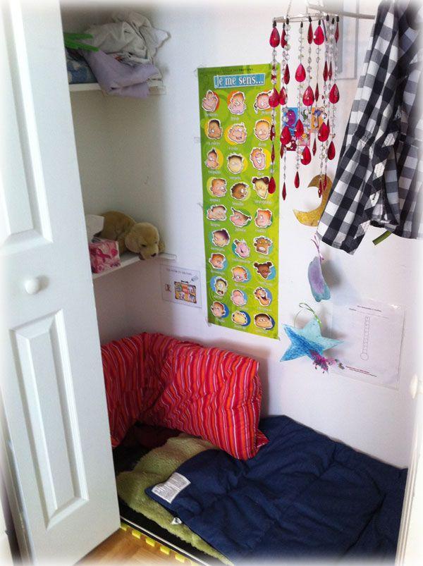 comment cr er un coin calme pour son enfant la maison la recette de mme ducoincalme madymax. Black Bedroom Furniture Sets. Home Design Ideas