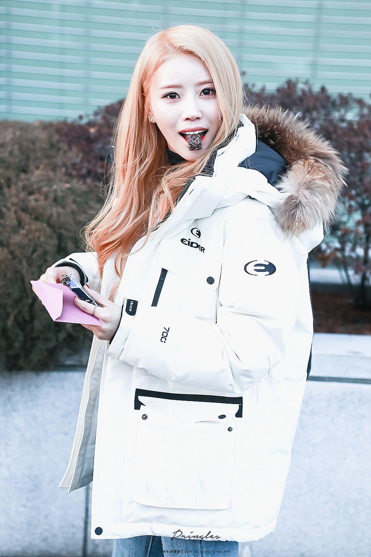Lovelyz Global Lovelyz Mijoo Winter Jackets Fashion