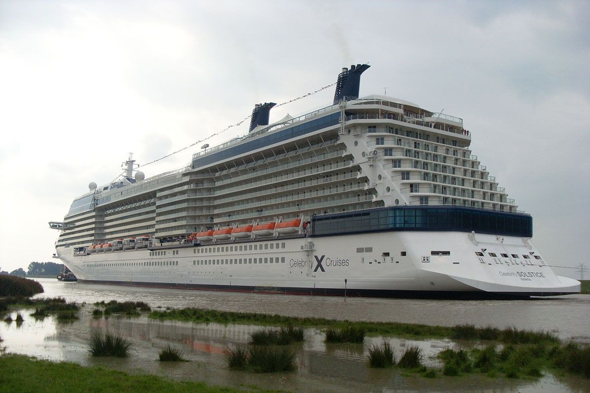 Solstice class celebrity ships to alaska