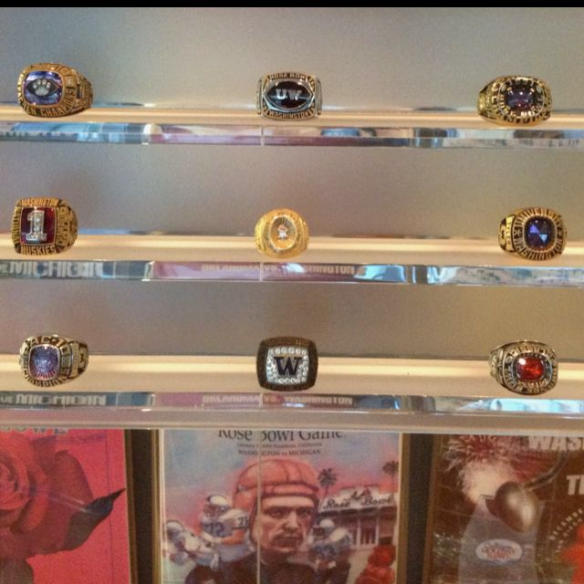 Championship Rings in the Legends Center.
