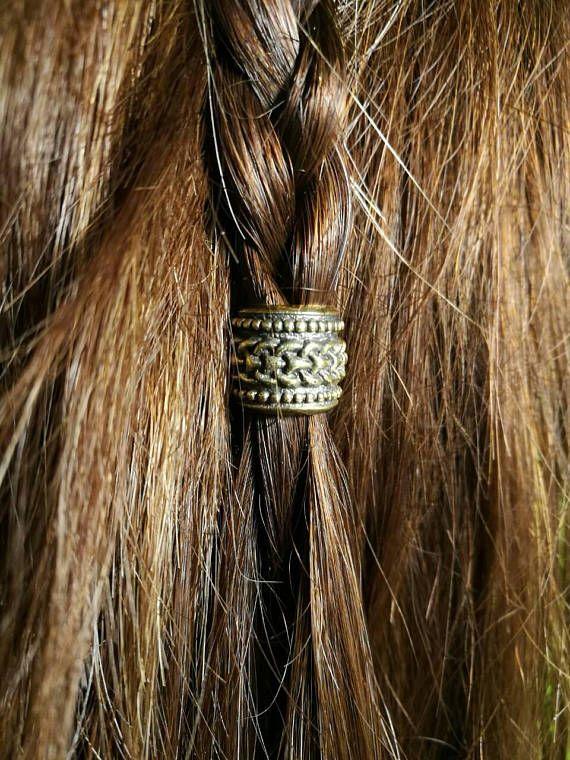 Beads Celtic Knot For Hair Viking Beard Jewelry Dread
