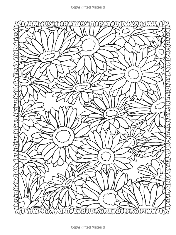 Creative Haven Floral Designs Coloring Book Books Jessica Mazurkiewicz