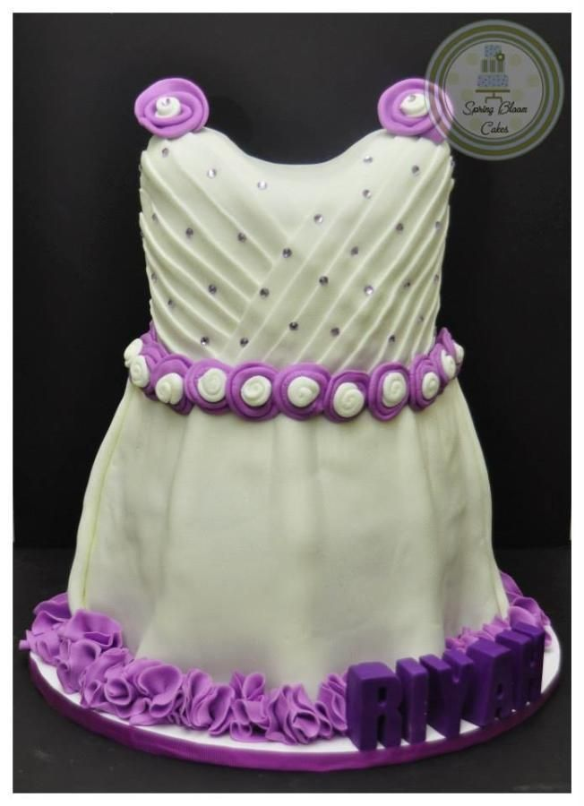 Baby Dress Cake Cakes Pinterest Dress Cake Cake And Cake Baby