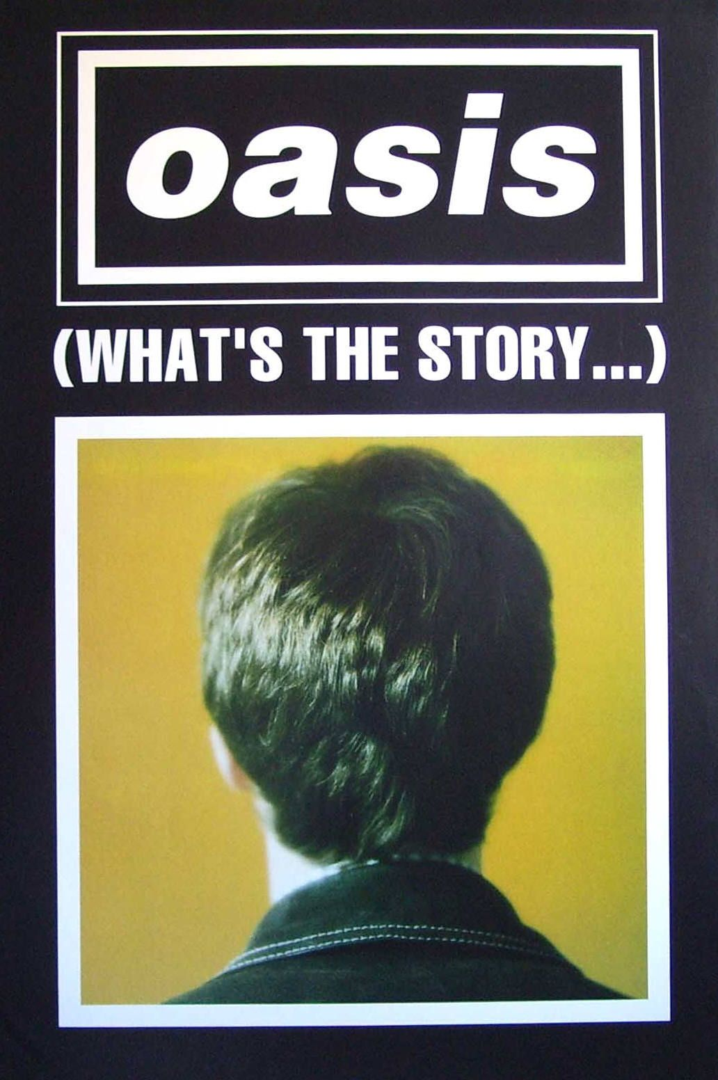 Oasis - (What's the Story) Morning Glory? Poster | 90s ... Oasis Whats The Story Morning Glory