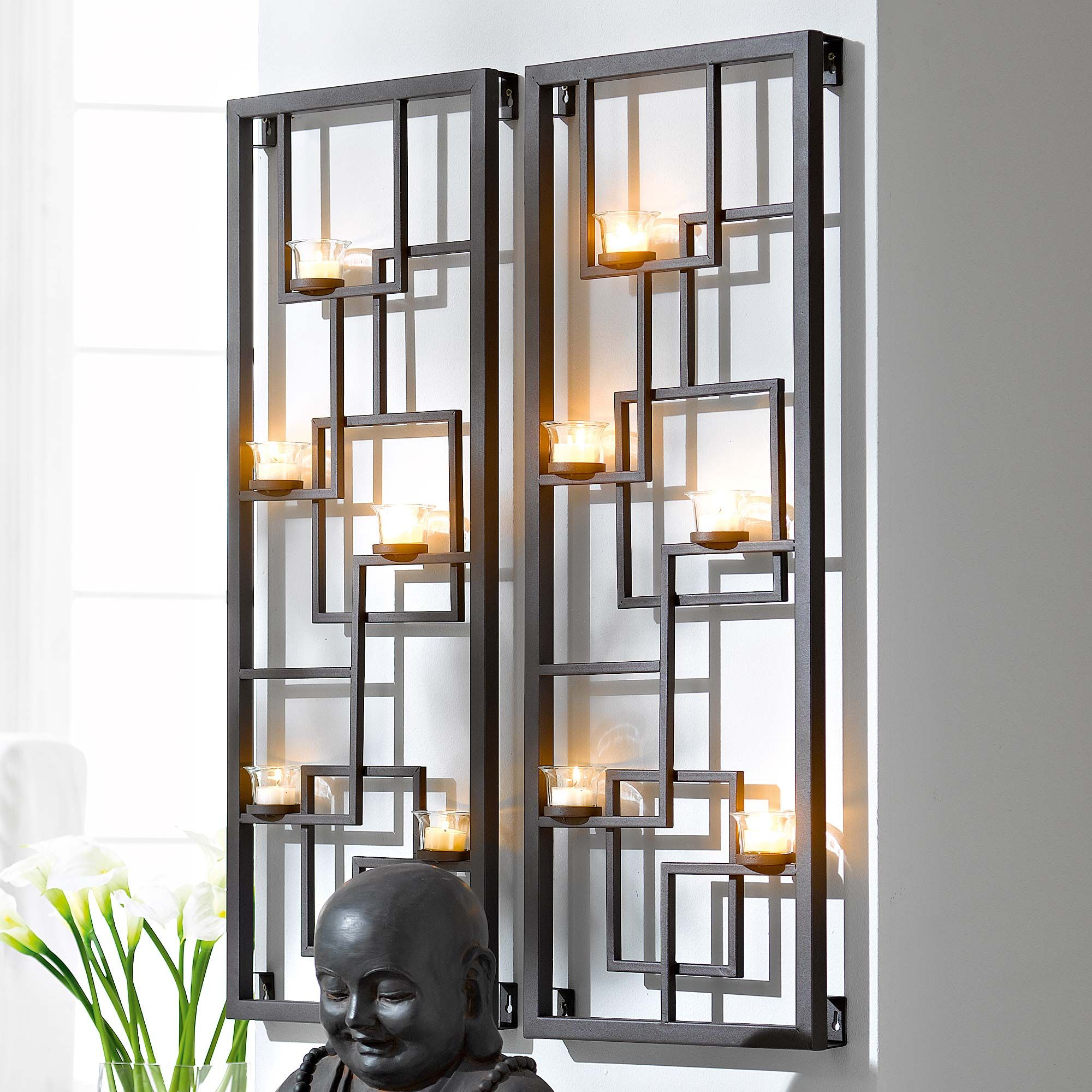 Cool and modern candle wall decor decorating ideas pinterest cool and modern candle wall decor mozeypictures Image collections