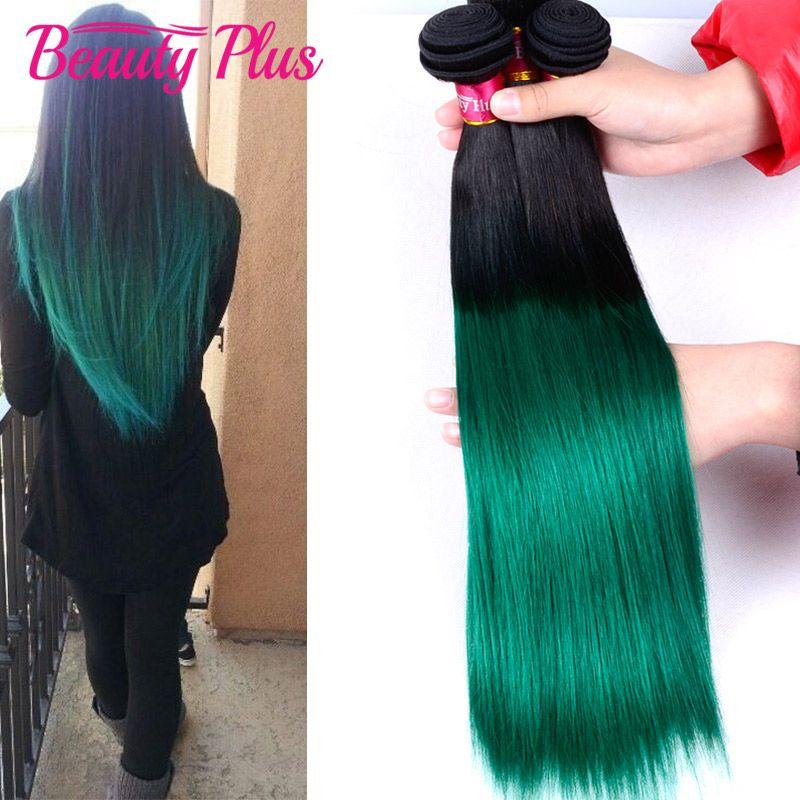 100% human virgin hair bundles 1b/green natural black color two tone ombre straight humna hair extensions straight virgin hair  https://www.aliexpress.com/store/product/Ombre-Two-Tone-1B-Green-Hair-Extensions-3-Bundles-Ombre-Malaysian-Virgin-Hair-Straight-Human-Hair/1392768_32628753127.html?spm=2114.12010608.0.0.RiEQky