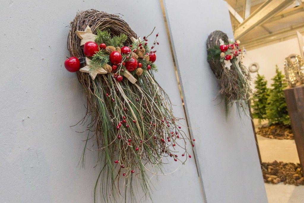 bilder hausmesse nov 2015 willeke floristik weihnachten ohne kerze pinterest kr nze. Black Bedroom Furniture Sets. Home Design Ideas