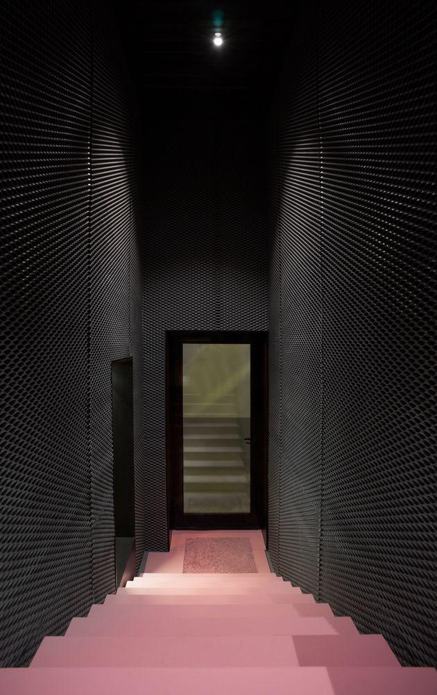 Färg i trappan...?