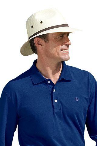 9005bf07ab74eb Men's Fairway Golf Hat UPF 50+ | Robbie's Hat board | Hats, Mens ...