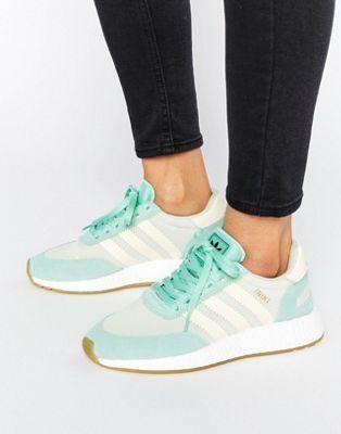 online retailer 4e38a 0b207 adidas Originals - Iniki - Baskets - Vert menthe