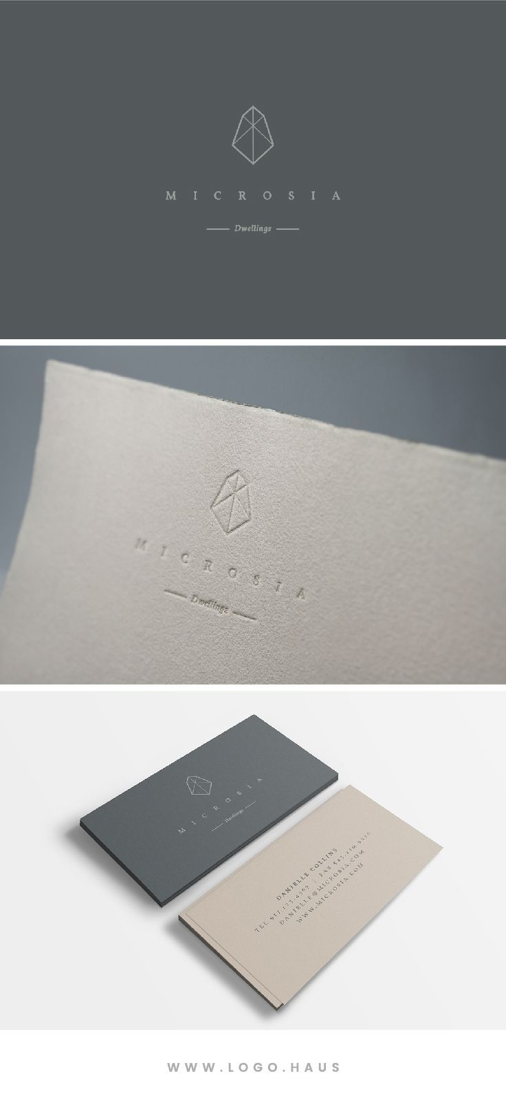 Microsia Pinterest Haus Logos And Package Design