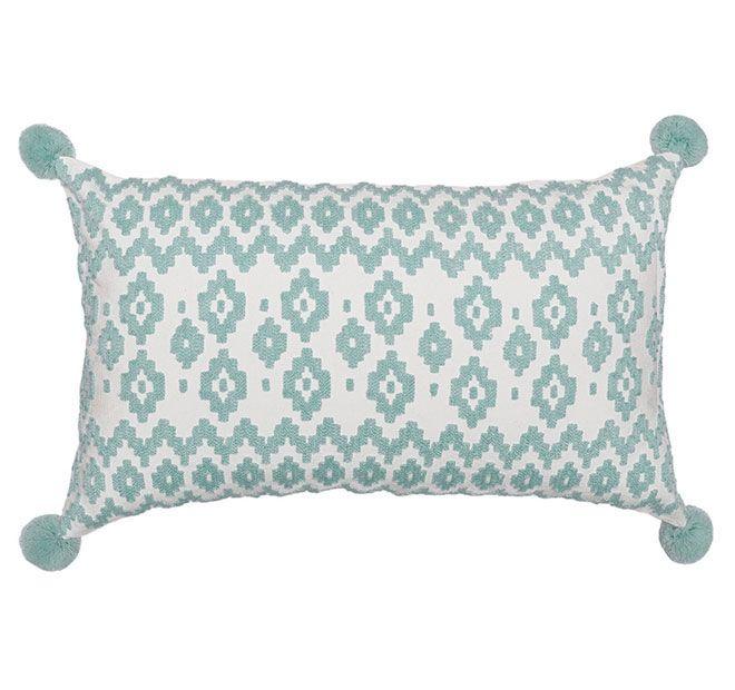 Bambury Empire 30x50cm Filled Cushion Frost