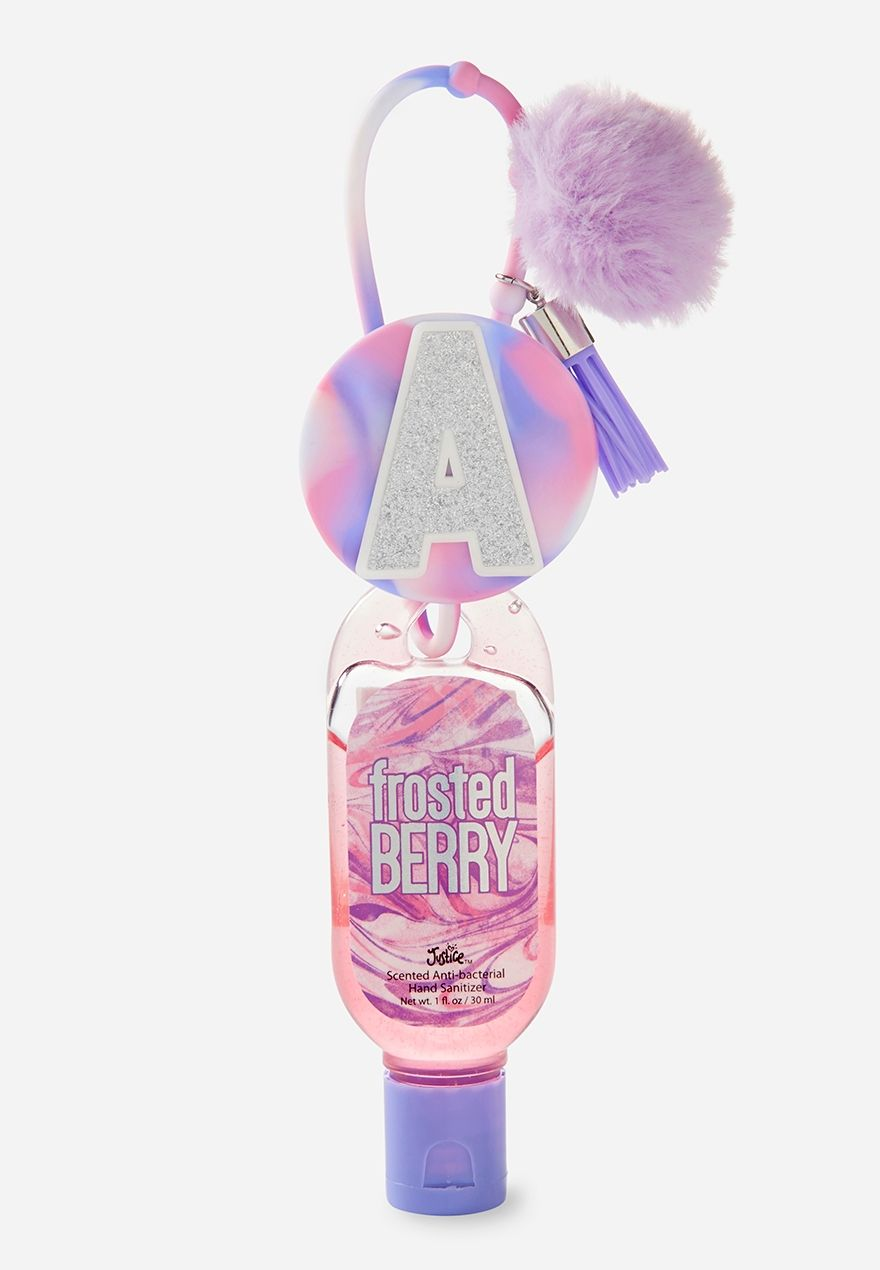 Initial Pom Pom Anti Bac Frosted Berry Scented Hand Sanitizer