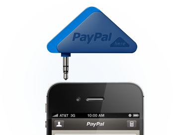Paypal here card reader for iphone ipad or android smartphones paypal here card reader for iphone ipad or android smartphones reheart Choice Image