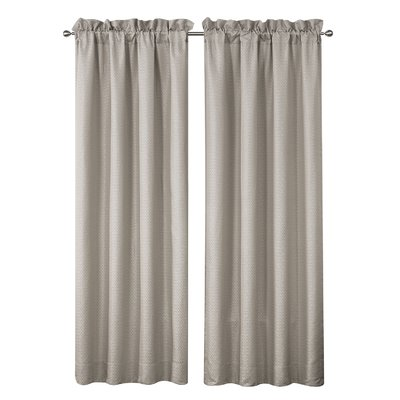 Waterford Bedding Victoria Solid Room Darkening Rod Pocket Curtain