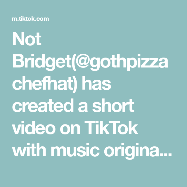 Not Bridget Gothpizzachefhat Has Created A Short Video On Tiktok With Music Original Sound Let Me Know If You G Writing A Book This Or That Questions Kidlit