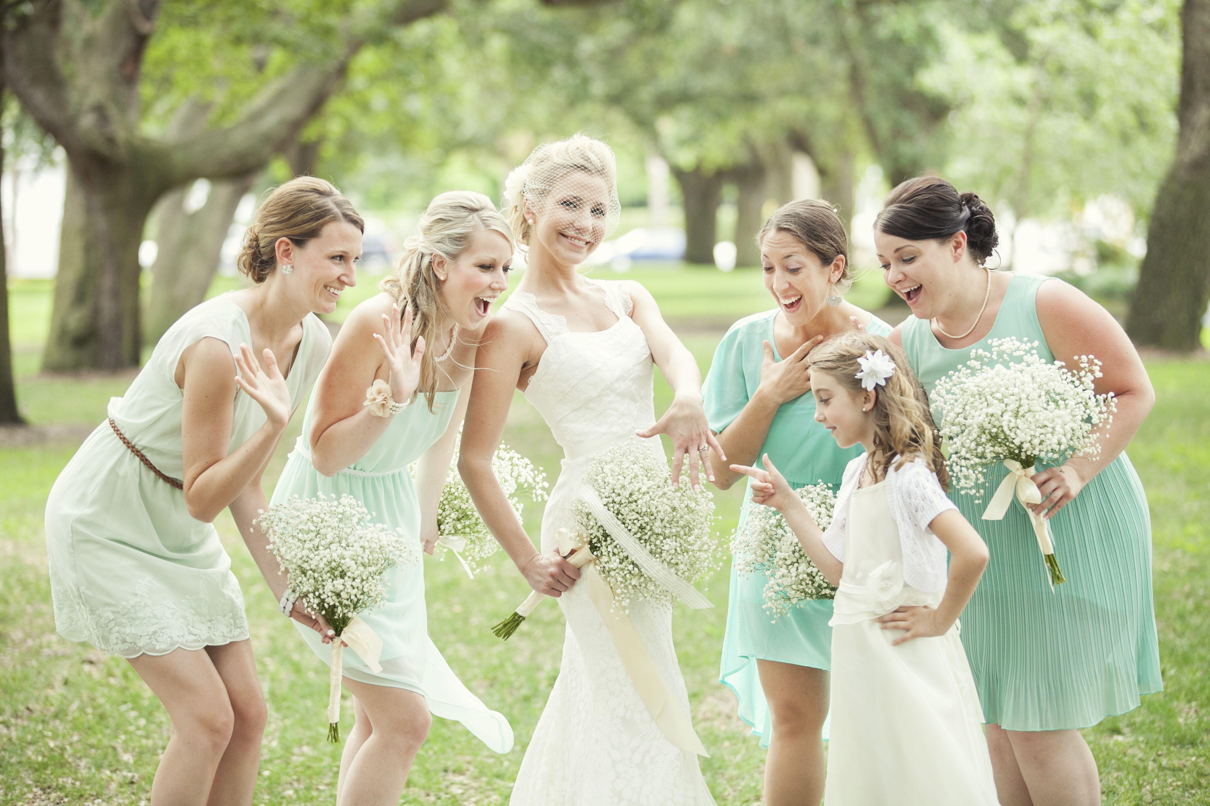 Shades of aqua bridesmaids dresses aqua wedding theme shades of aqua bridesmaids dresses ombrellifo Images