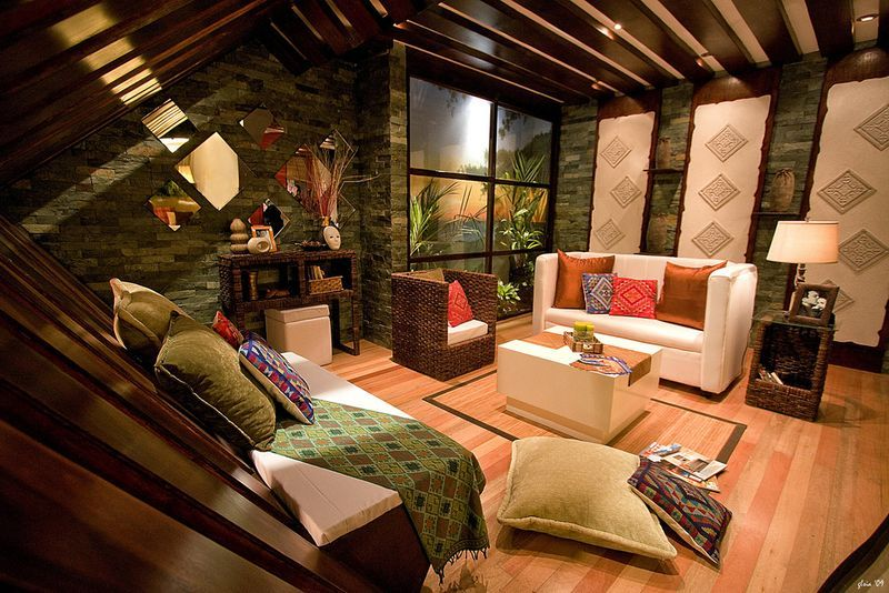 Living Room Interior Design In The Philippines the daily quill: style your home with philippine interior design