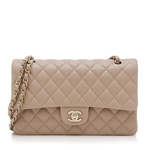 30d75ec51 Chanel Lambskin Classic Medium Double Flap Bag   Bags   Pinterest ...