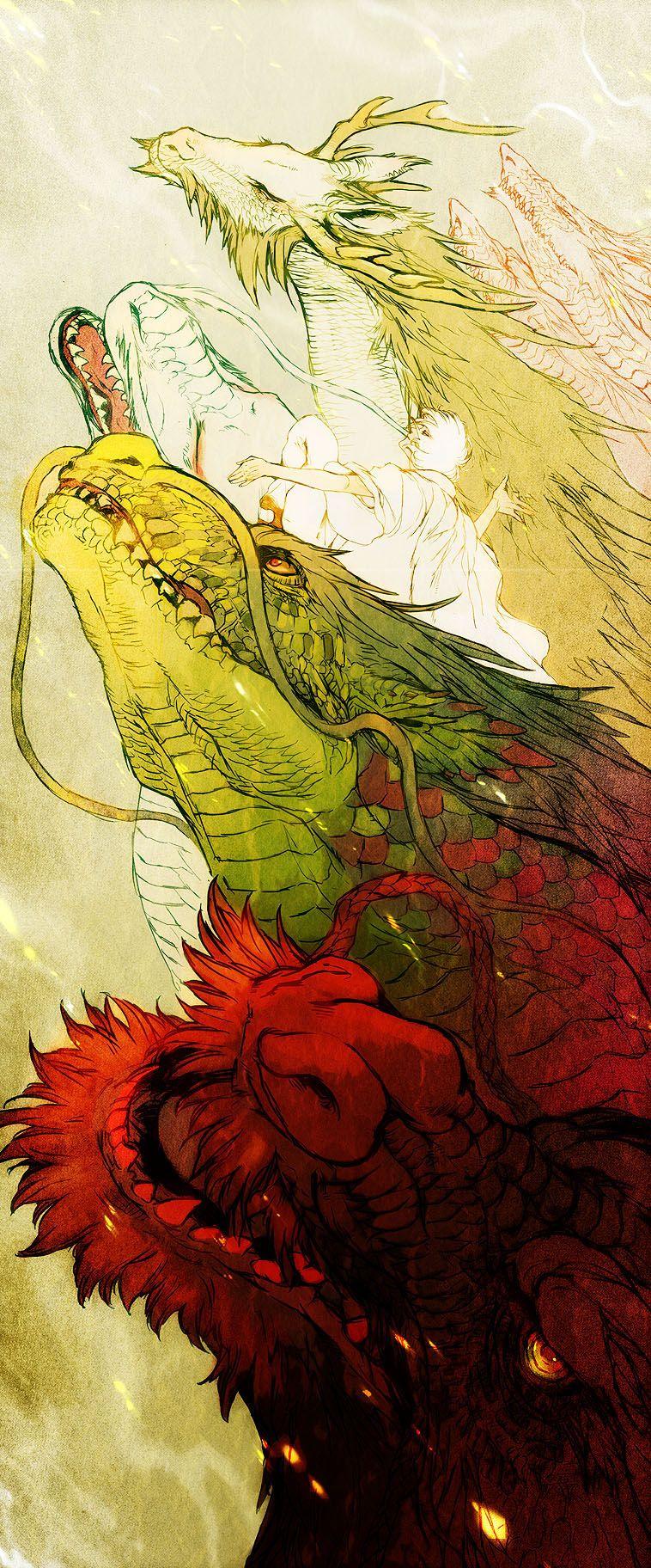 Japan Dragon by ~HasaBattle on deviantART   ed   Pinterest ...