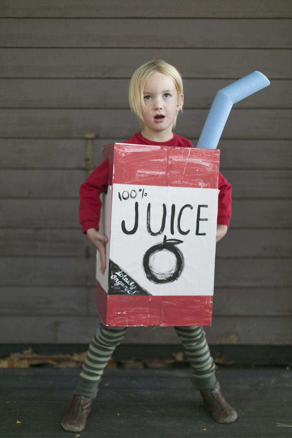 Make A Juice Box Costume From A Cardboard Box Mer Mag
