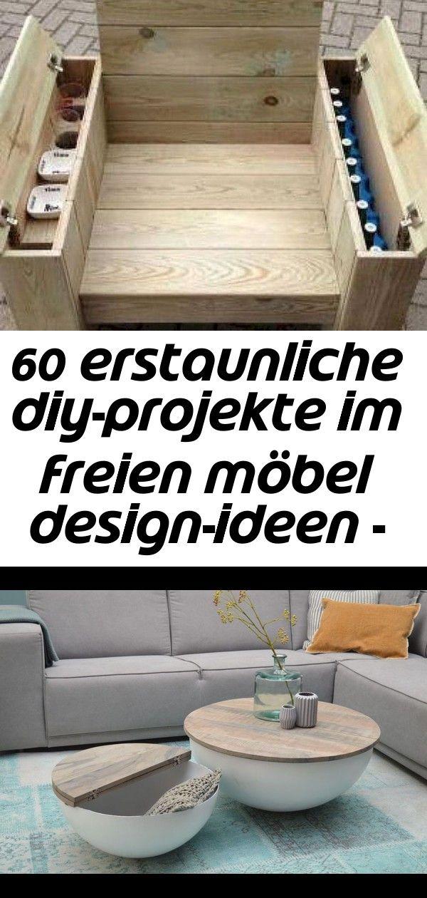 60 erstaunliche diy-projekte im freien möbel design-ideen - #design #erstaunliche #freien #ideen 24 #projekteimfreien