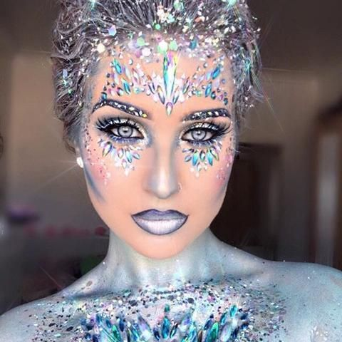 The best Halloween 2018 costume and makeup tutorial #ledtechnology