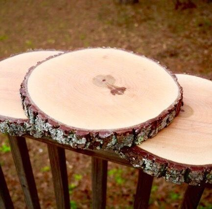 10 Inch Treated Wood Slice For Wedding Centerpieces Table Rustic Decor Home