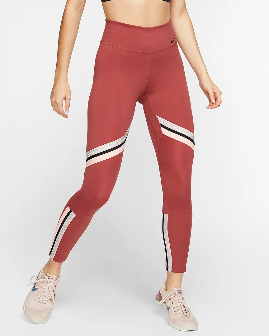 One Icon Clash Women's 7/8 Leggings. Nike IE Women, Nike