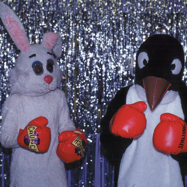 Put 'em up, the #CrunchBunny is back in action! #TBT #MakeFUN #CrunchGym #NoJudgments