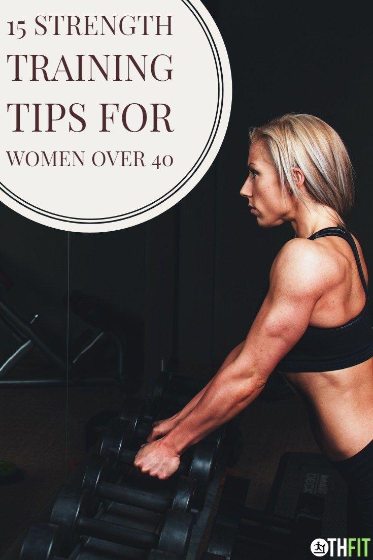 Strength Training Tips For Women Over 40