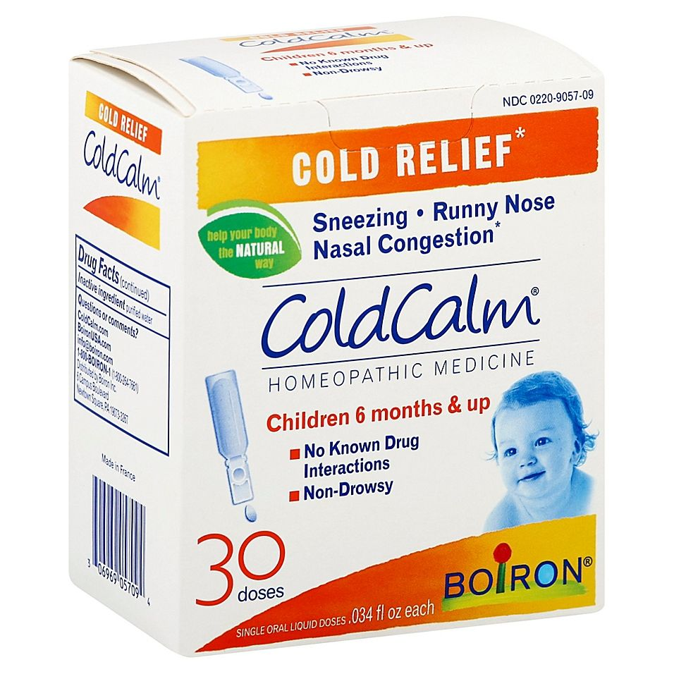 Boiron Coldcalm 30Count Baby Homeopathic Cold Relief