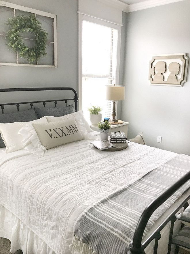 Farmhouse Bedding Bedroom With Farmhouse Inspired Bedding Neutral Farmhouse Bedding Master Bedrooms Decor Farmhouse Master Bedroom Modern Farmhouse Bedroom