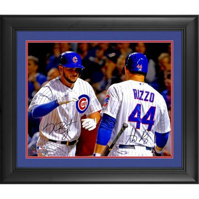 buy online 35e75 003cb Anthony Rizzo, Kris Bryant Chicago Cubs Fanatics Authentic ...