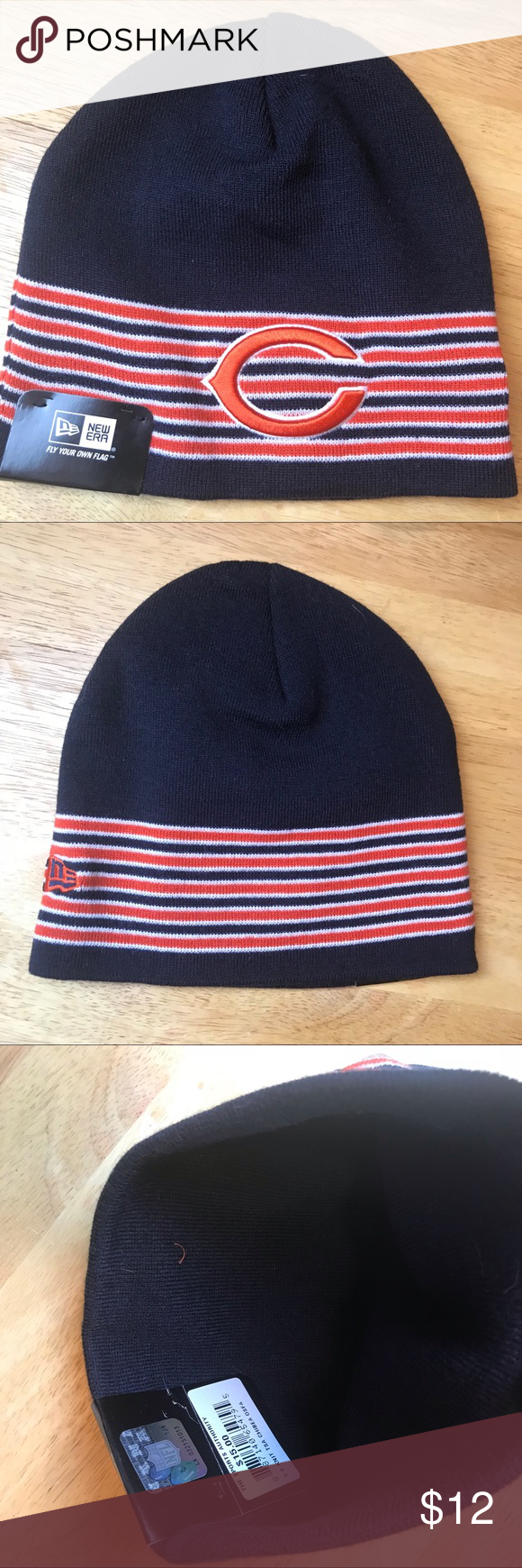 Chicago Bears Knot Hat Beanie Toboggan Nwt Os Nwt In 2018 My Posh