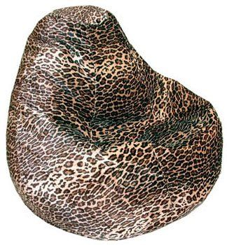 Miraculous Animal Print Beanbag Chair Adult Size Leopard By American Short Links Chair Design For Home Short Linksinfo