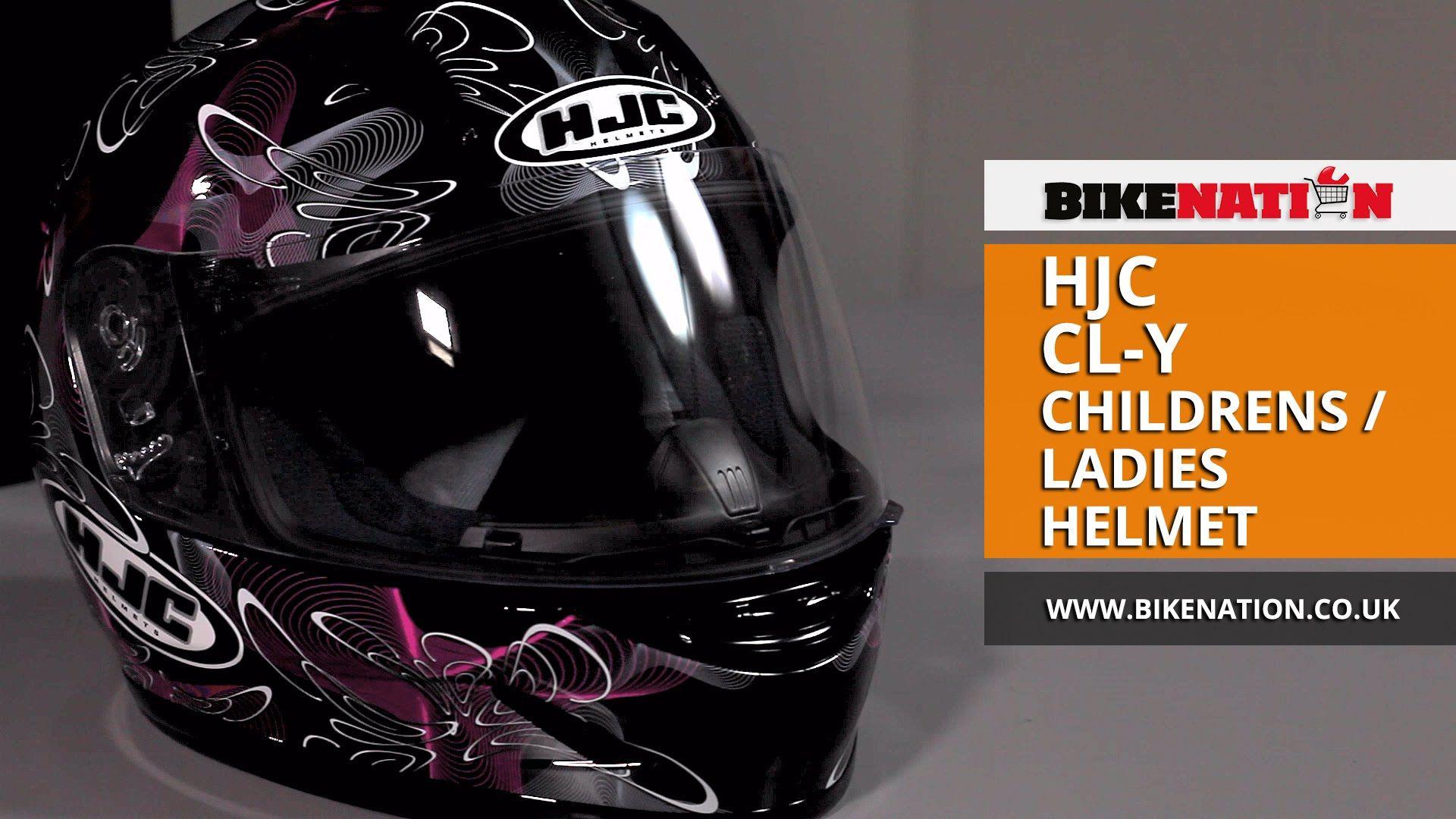 HJC - CL-Y - Childrens / Ladies Helmet  #helmets #bikers #ladies #children #hjc #pink #purple
