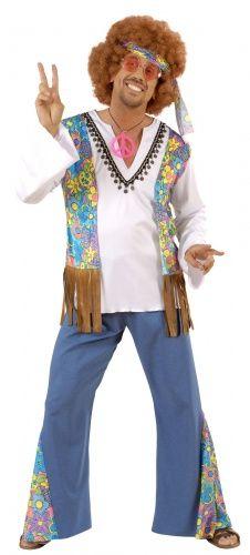 Disfraz De Hippie Para Hombre Hippie Style Disfraz De Hippie