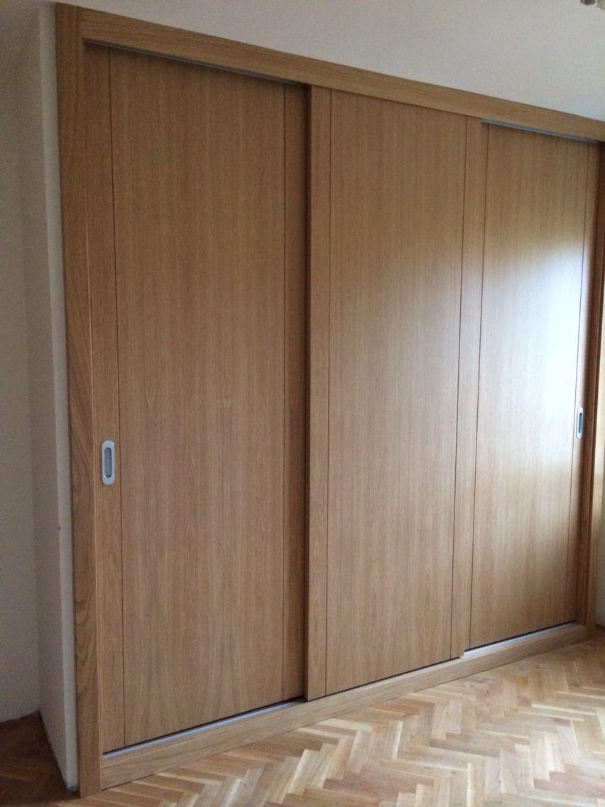 Armario empotrado a medida sistema vifren puertas mod lite sin perfil de contorno con - Puertas armarios empotrados ...