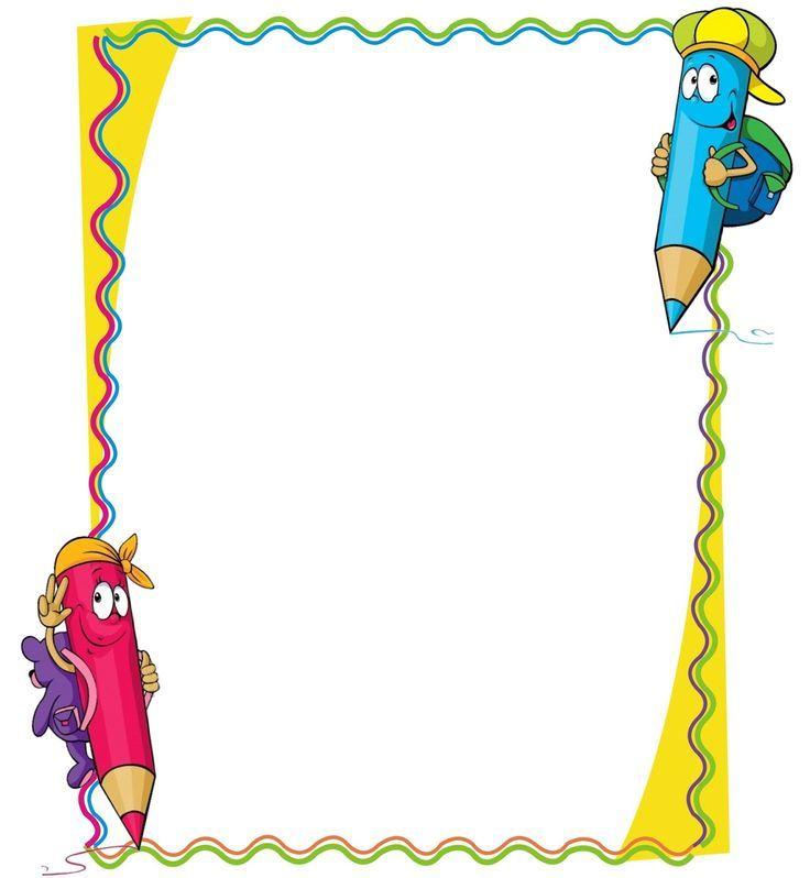 marcos y bordes escolares - חיפוש ב-Google | bordes infantiles ...