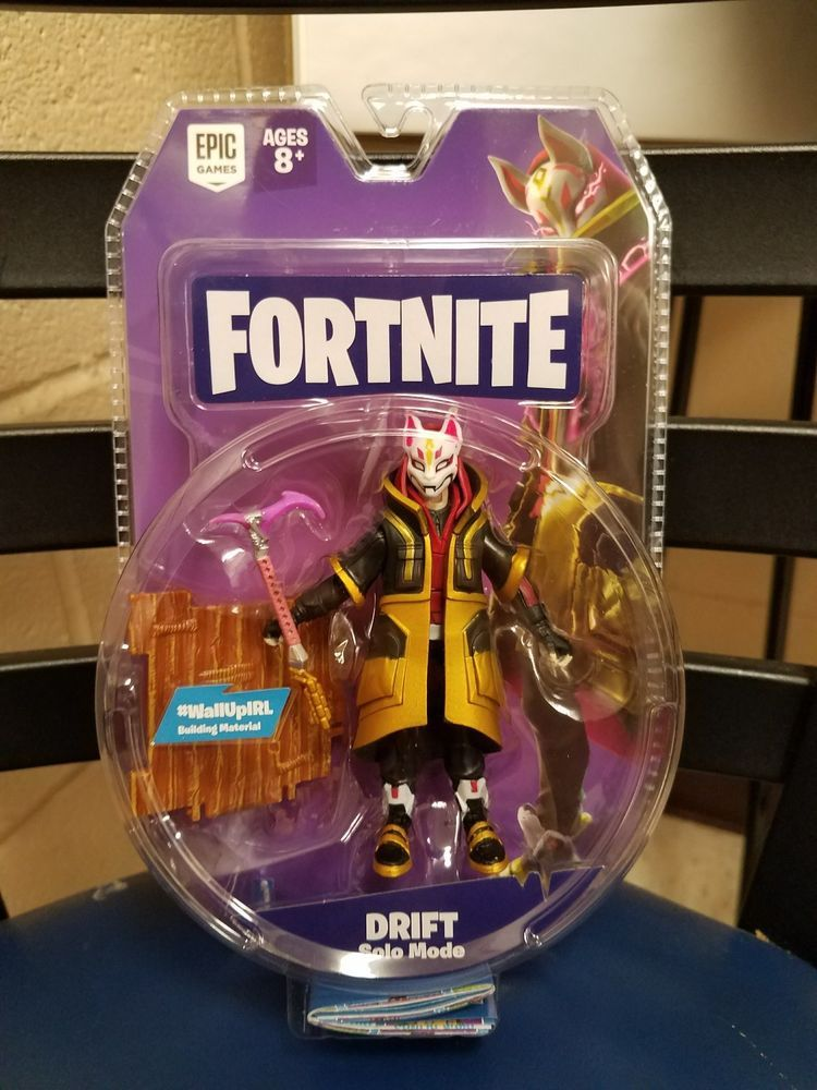 Fortnite Drift Solo Mode 4 Inch Action Figure In Hand Fortnight