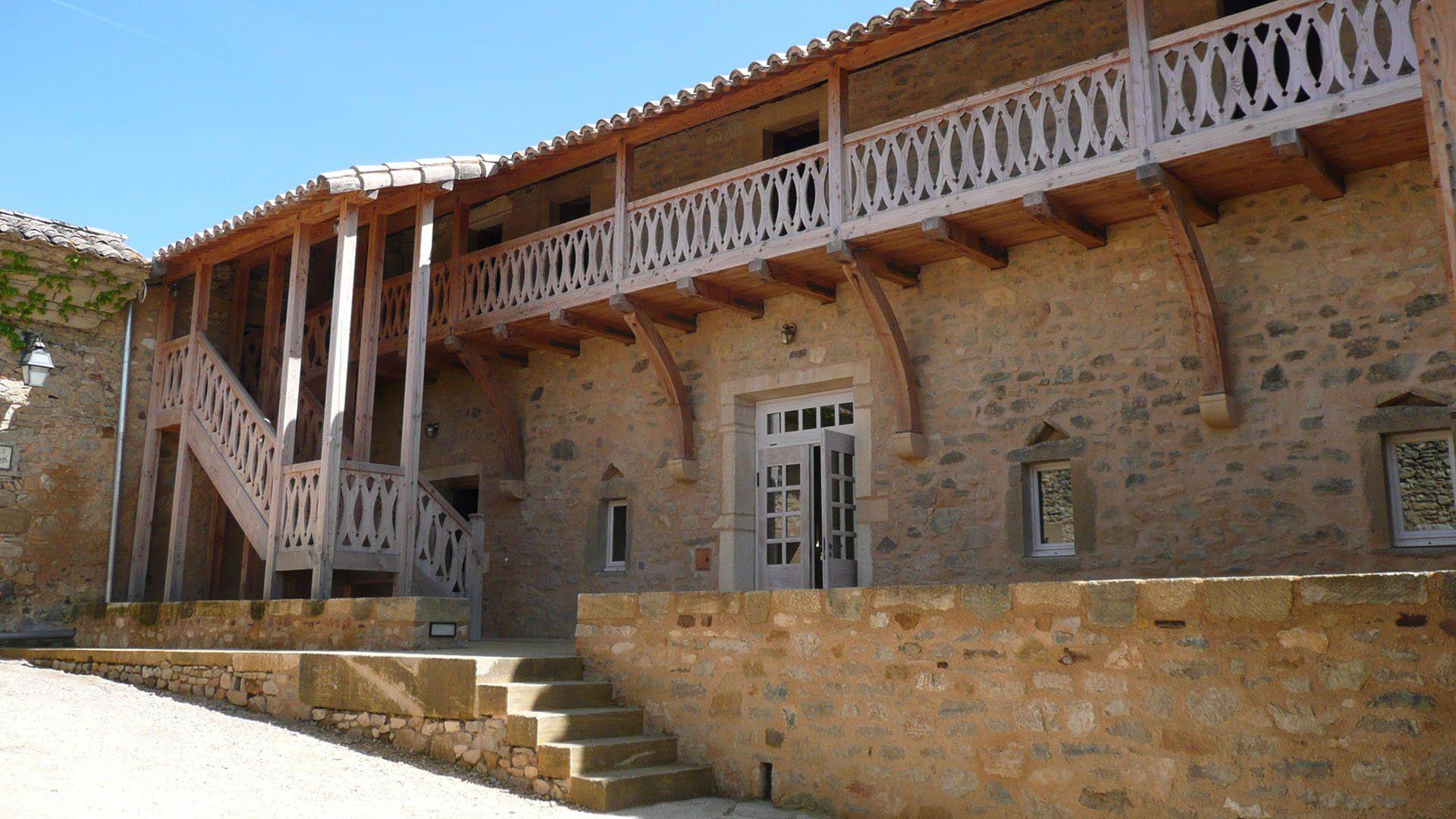 Monastère de Solan - caveau de vente