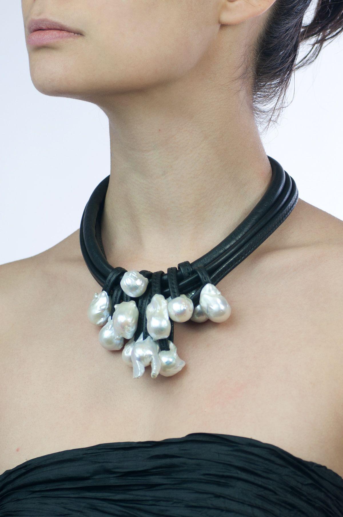 Monies Baroque Pearl Necklace Pearls Schmuck