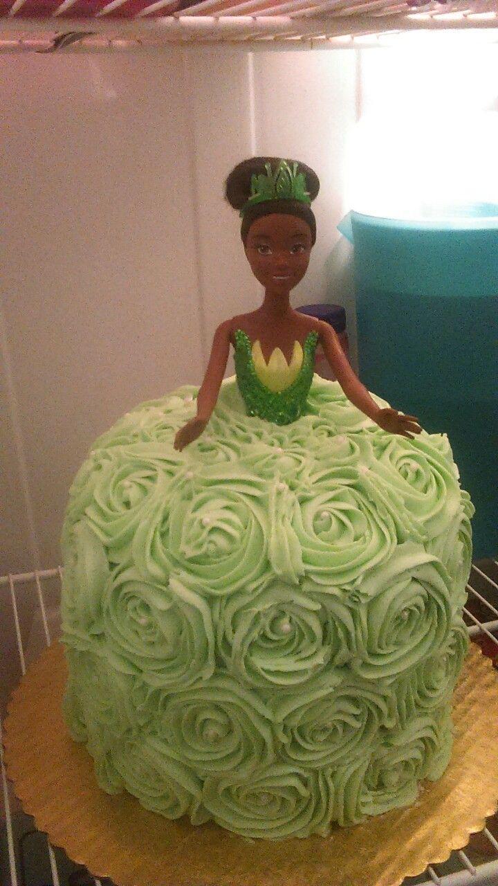 Fabulous Princess Tiana Cake Princess Tiana Birthday Party Tiana Personalised Birthday Cards Veneteletsinfo