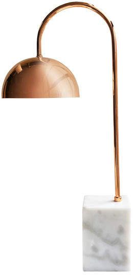 Rose Gold Desk Lamp Jay Import Marble Desk Lamp  Rosegold  Desk Accessories