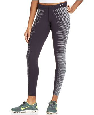 aa55b1affe75f Nike Flash Printed Reflective Dri Fit Running Tights - Leggings - Women