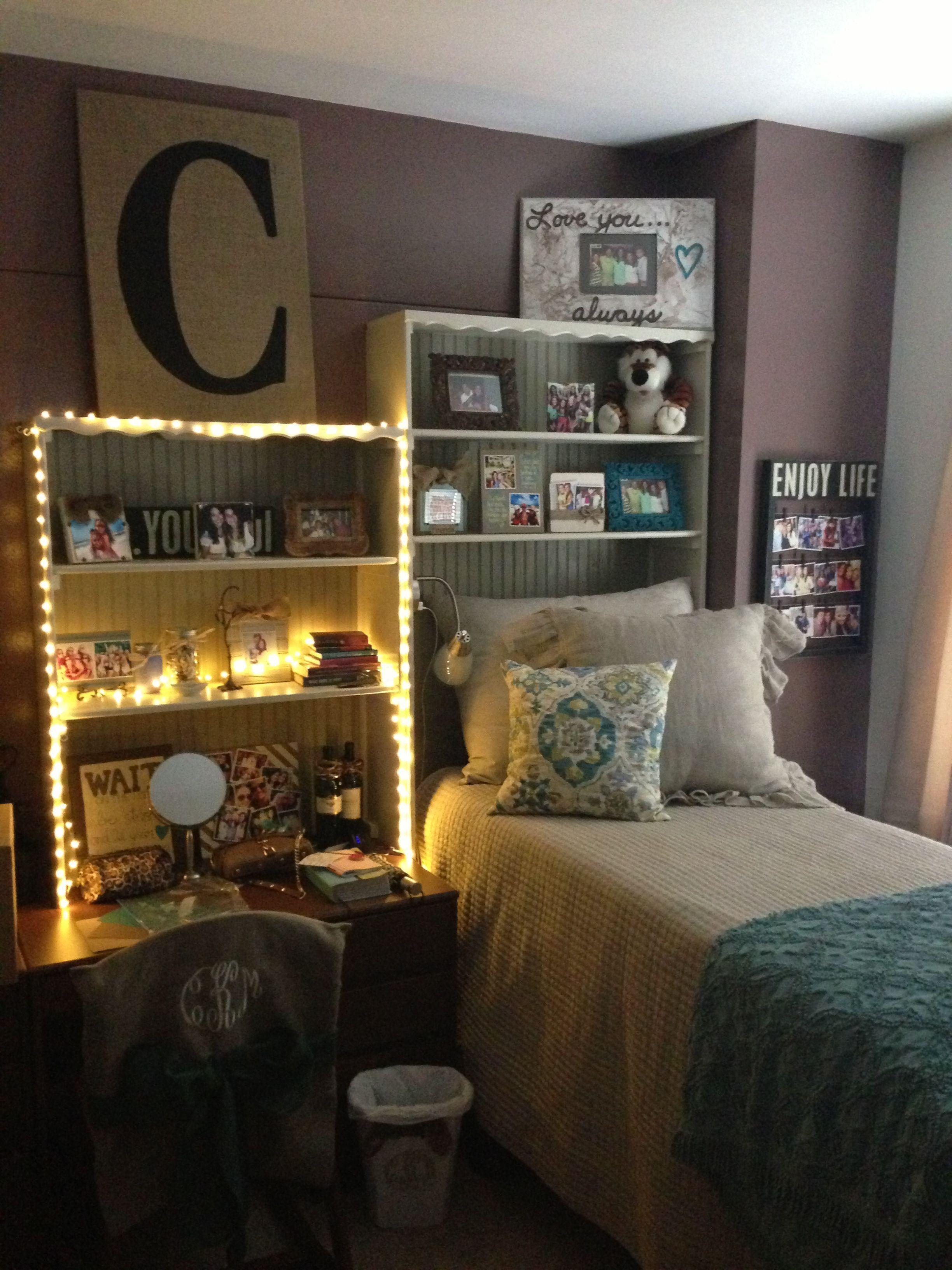 Auburn University Single Dorm Room Dorm Room Organization Dorm