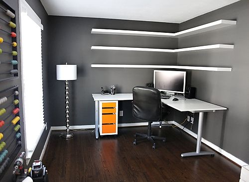 diy office shelves. how to customize and install floating shelves 7th house on the left diy office