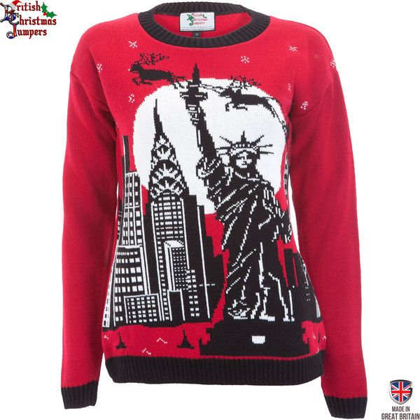 Christmas in New York - Womens Christmas Jumper | British ...