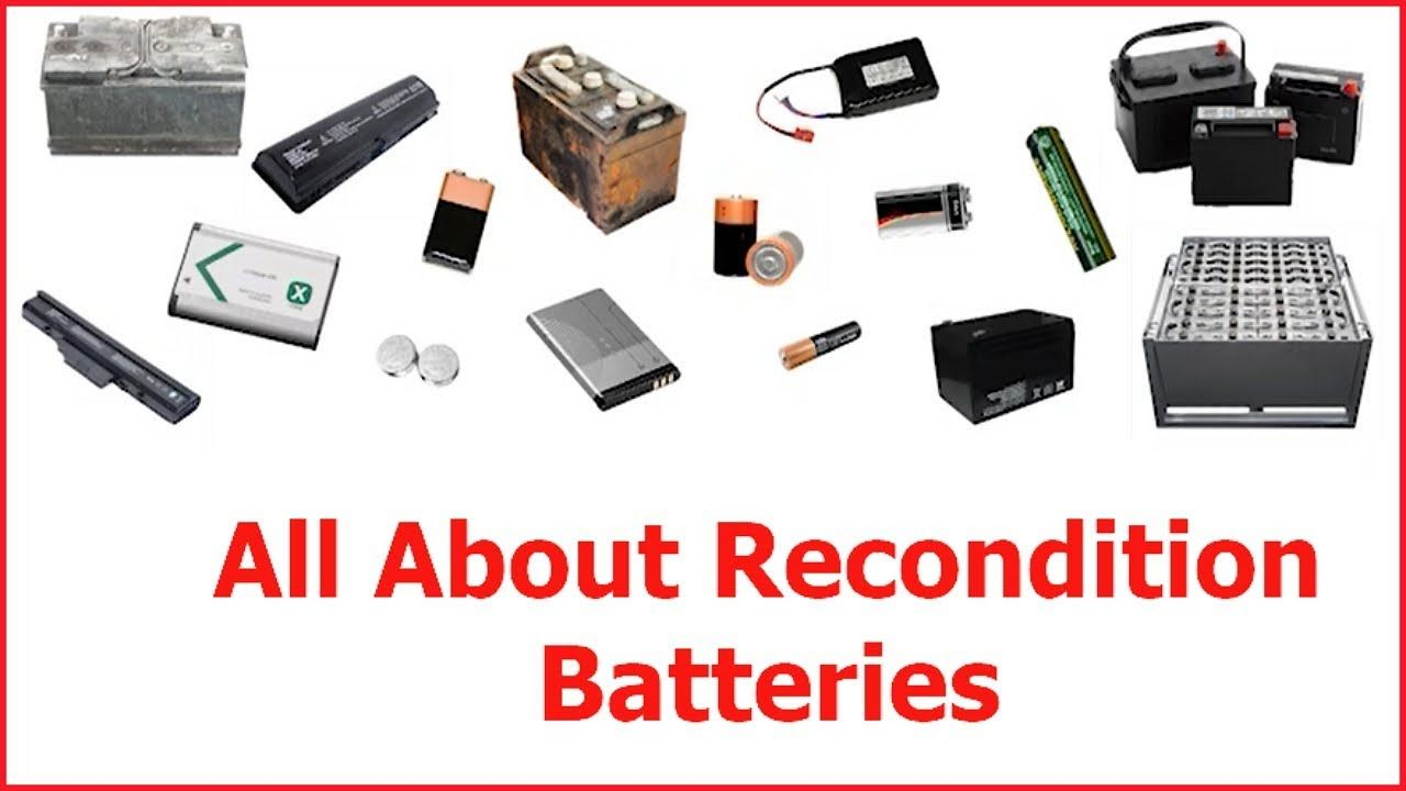 How to Recondition Batteries At Home http//viralwebsite